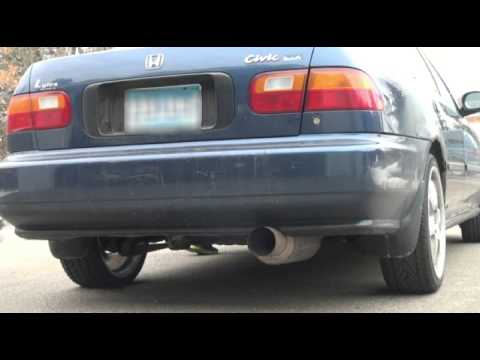 1995 Honda Civic DX (Best sounding Civic exhaust ever!)