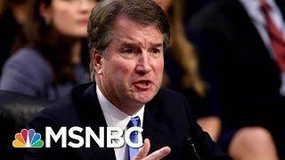 How The FBI Could Investigate The Brett Kavanugh Allegation | Velshi & Ruhle | MSNBC