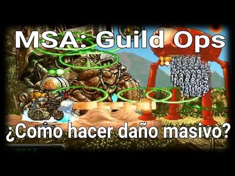 MSA - Guild Ops: ¿Cómo hacer más daño?