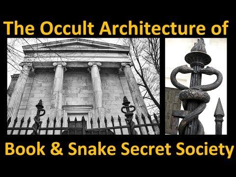 OCCULT ARCHITECTURE OF YALE UNIVERSITY´S BOOK & SNAKE SECRET SOCIETY