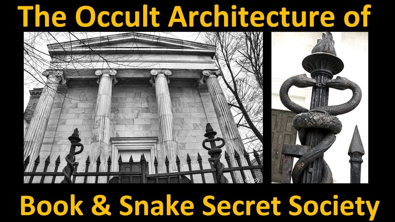 """The Occult Architecture of Yale University´s """"Book & Snake"""
