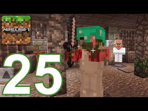 Minecraft: PE - Gameplay Walkthrough Part 25 - Evasion (iOS, Android)