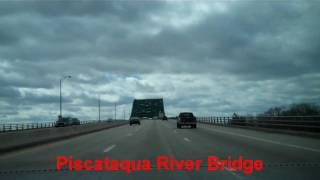 Piscataqua River Bridge - Maine to New Hampshire