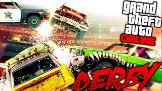 DERBY BRUTAL Y EPICO FINAL!! DEMOLICION DERBY GTA 5 ONLINE Makiman