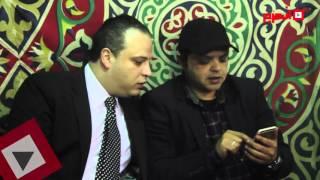 سمير غانم ومحمود عبدالعزيز وهنيدي في عزاء يسري الإبياري (فيديو)