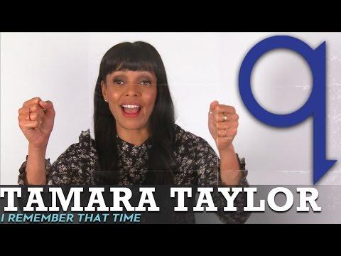 Tamara Taylor's embarrassing Morgan Freeman story