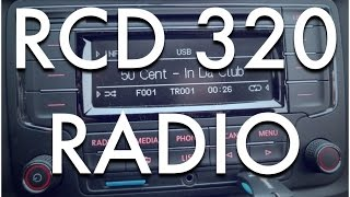 RCD 320 / RCN 210 - stereo/audio/radio - Octavia 2 (2008)