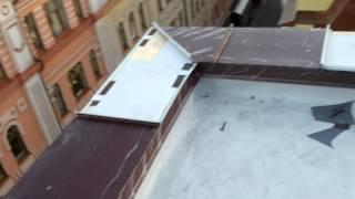 видео Парапеты из оцинкованной стали, цены