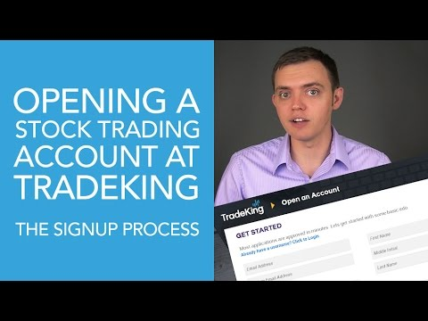 How to Open & Register for a Stock Broker Account at TradeKing