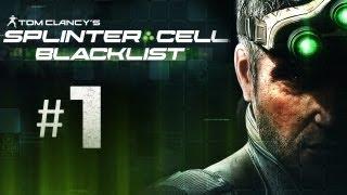 Splinter Cell Blacklist Gameplay Walkthrough Part 1 - Hiding Bodies