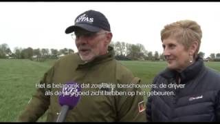 Britten inspecteren Opmeerse velden voor WK Schapendrijven:
