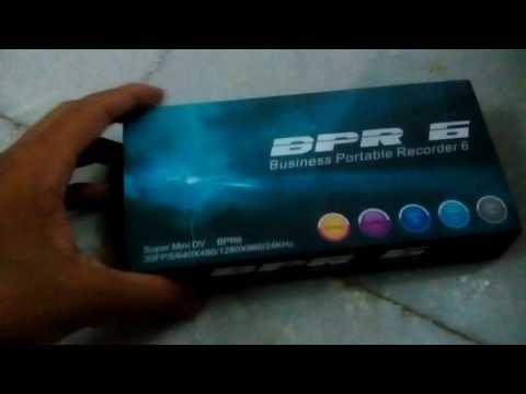 BPR 6 spy pen review