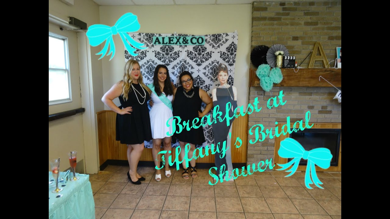 breakfast at tiffanys bridal shower decoration haul