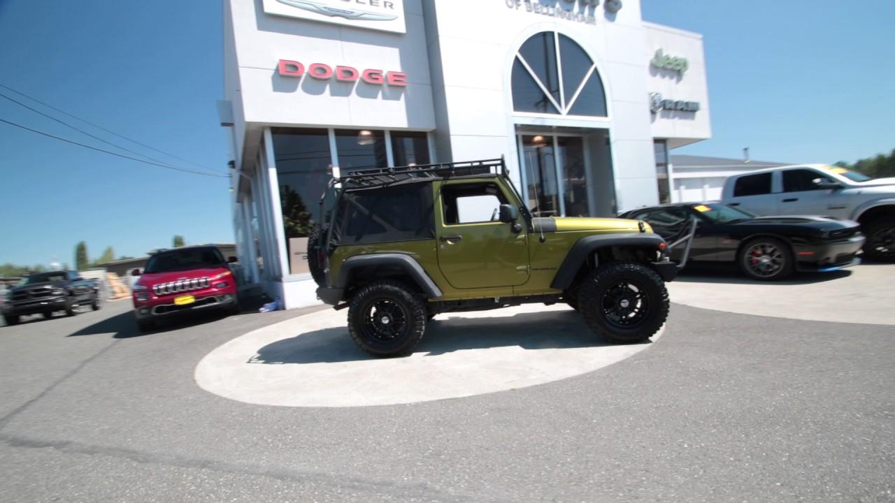 2007 Jeep Wrangler X Rescue Green Metallic 7l121160 Mt Vernon