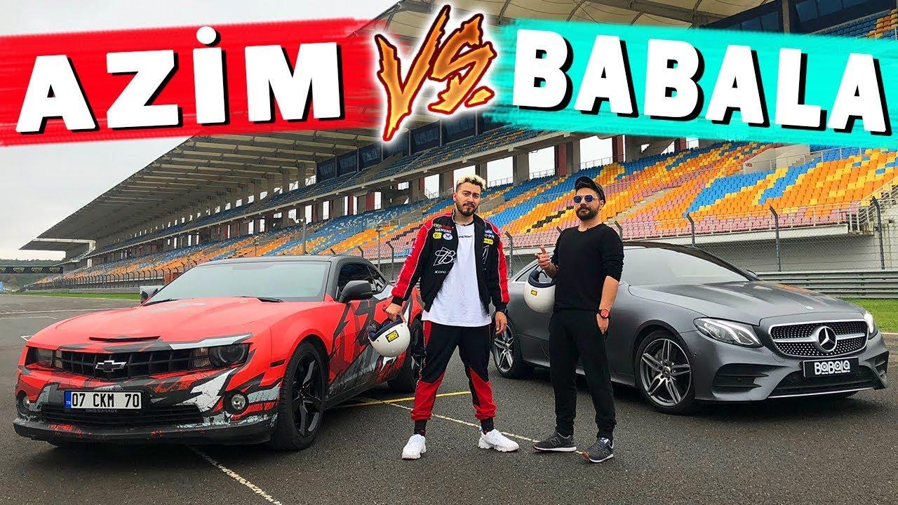 Azim Camaro Vs Babala Mercedes Drag Yarisi Enes Batur Vs Oguzhan Ugur Youtube