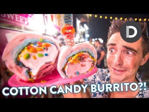 What is: CRAZY INSTAGRAM FOOD?! 🌯 626 Night Market Tour!