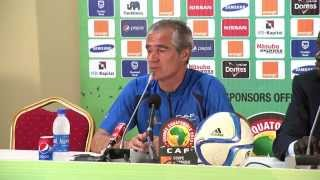 Cape Verde - Press conference (26/01) - Orange Africa Cup of Nations, EQUATORIAL GUINEA 2015
