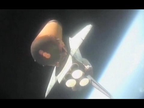 Blast into Outer Space, Spectacular Fall to Earth