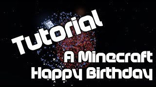 How To Make The Happy Birthday Song In Minecraft