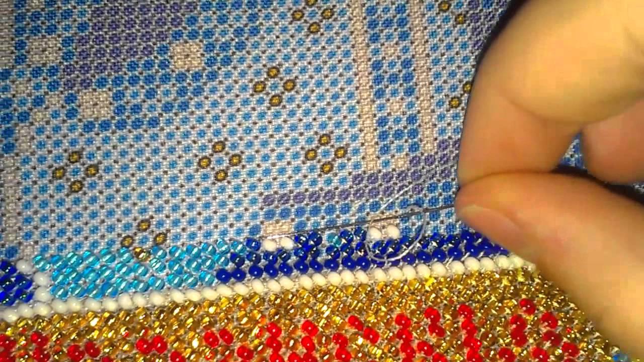 Вышивка бисером какие нитки нужны для