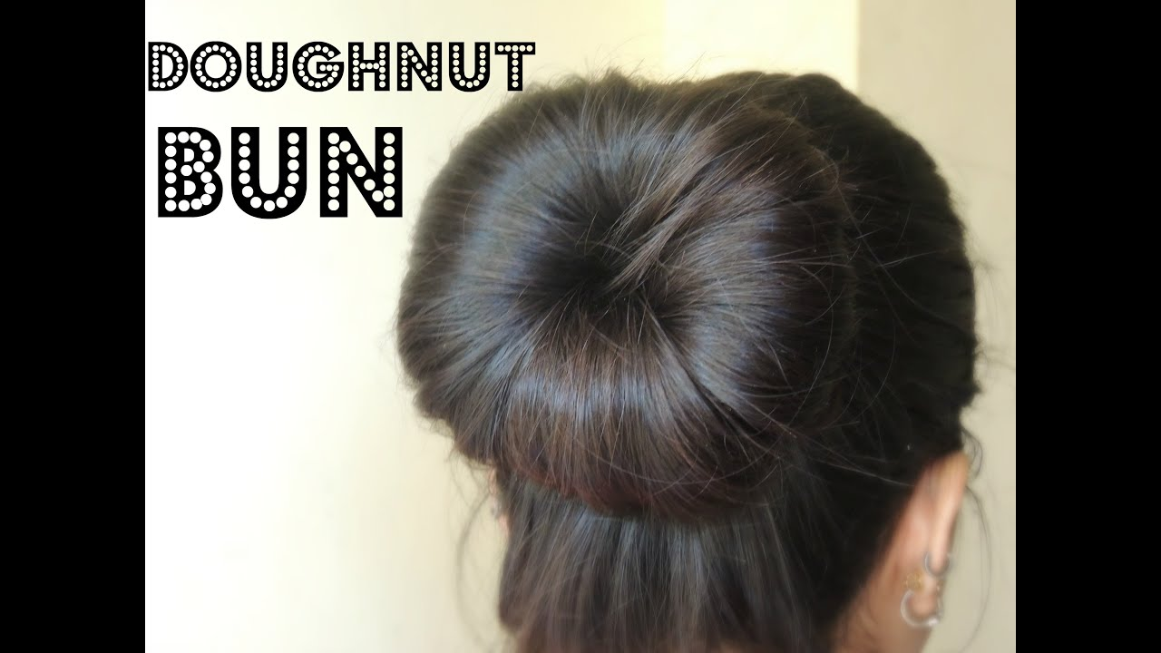 youtube how to make a bun with a donut