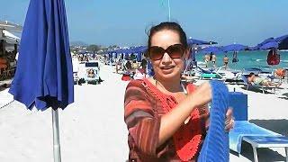 CRUISE PORT | TRIP TO THE BEACH IN OLBIA SARDINIA