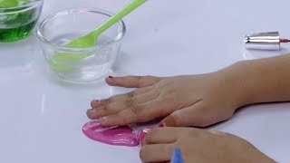 DIY Spill Slime with Fevicol
