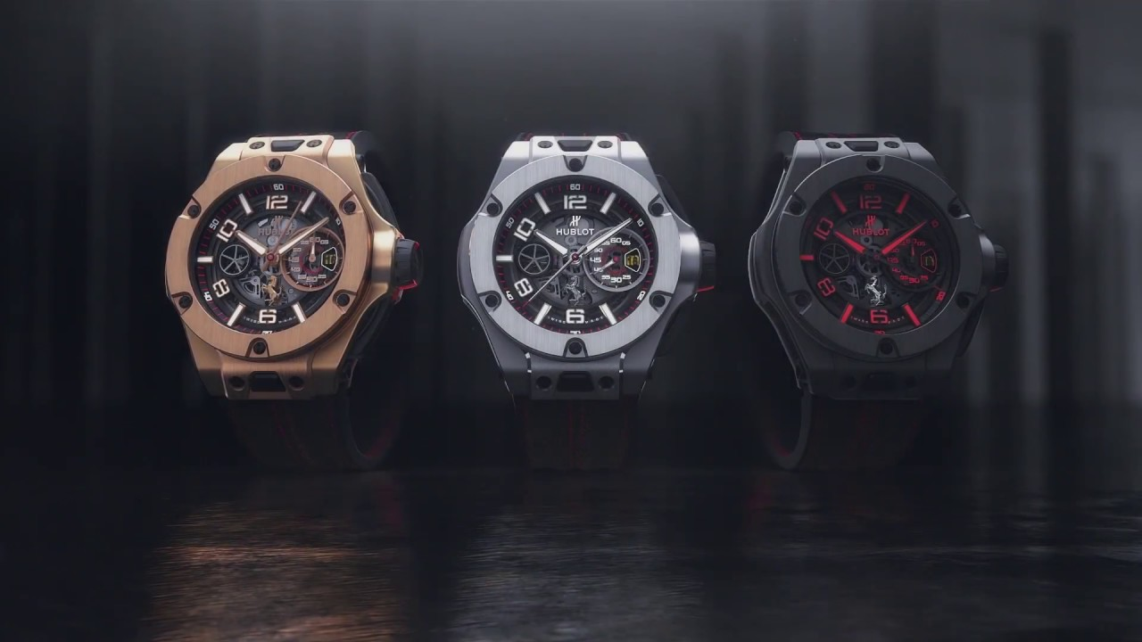 HUBLOT - BIG BANG FERRARI