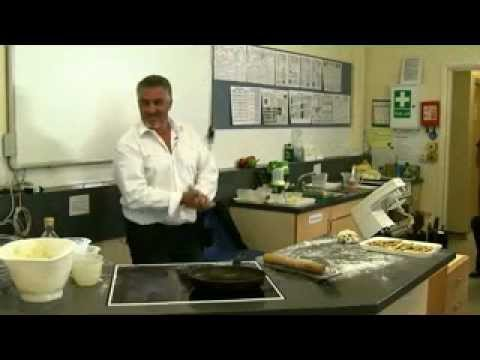 Baking scones with Paul Hollywood