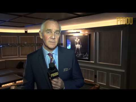 Luca Bentivoglio, COO de LATV, presenta el upfront en NYC del network y el syndication Latination