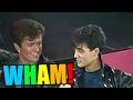 Capture de la vidéo Young George Michael And Andrew Ridgeley (Wham!) Interview