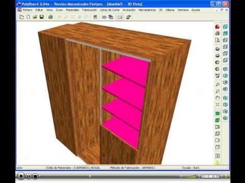 Polyboard como crack super facil doovi for Software para diseno de muebles y optimizacion de corte gratis