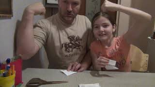 саша и папаша2фокусы поделки из бумаги загадки для детейшутки оригами для детей Папа папаша