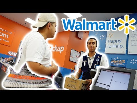 RETURNING MY YEEZY BOOSTS TO WALMART!! (Freak Out!)