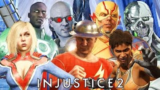 Injustice 2 - All Premier Skins Gameplay 4K @ 2160p (60ᶠᵖˢ) HD ✔