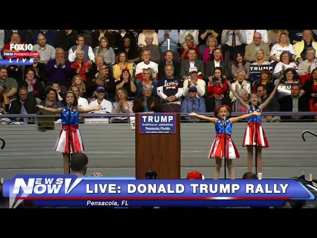 Las niñas bailarinas de Trump