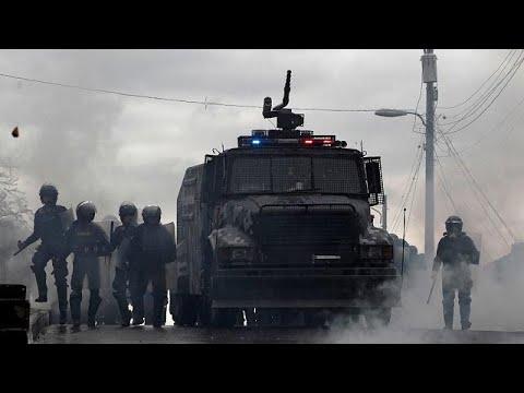 euronews (em português): Novos confrontos junto ao parlamento hondurenho