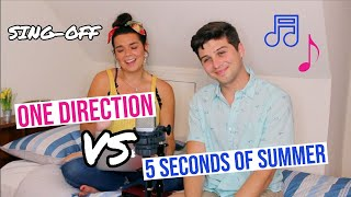One Direction vs. 5 Seconds of Summer SING-OFF!