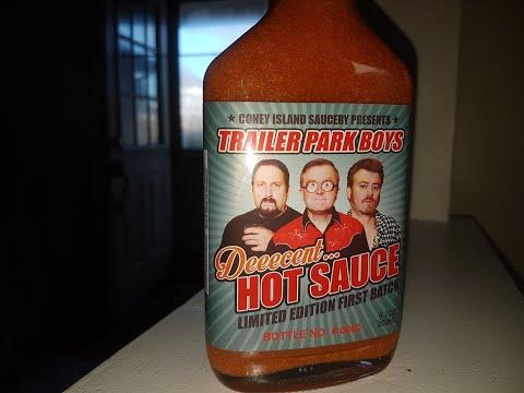 Trailer Park Boys Deeecent Hot Sauce Review #TPB #TrailerParkBoys #HotSauce