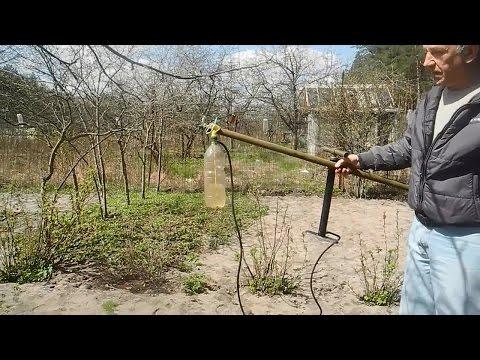 видео: Простой,мощный и халявный,распылитель для огорода