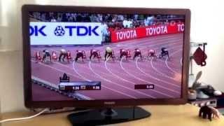 100 metres final Beijing