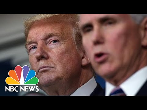 Trump, Pence Meet With Health Insurance Executives About Coronavirus | NBC News (Live Stream)