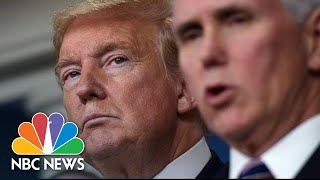 Pence Meets With Health Insurance Executives | NBC News (Live Stream Recording)