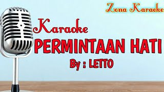 Gambar cover KARAOKE PERMINTAAN HATI (LETTO)