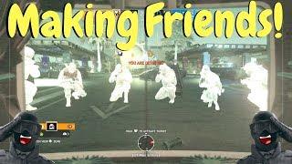 Being Friendly in Rainbow Six Siege