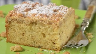 Crumb Cake Recipe Demonstration - Joyofbaking.com