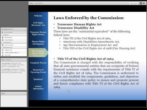 Human Rights History & Overview of the TN Human Rights Commission