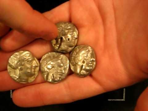 AAYN Episode 62: Five Athenian Tetradrachms, Ancient Greece