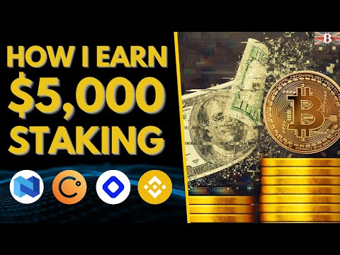 How I Earn $5000 Per Month Staking Crypto (Stake Crypto To Earn Passive Income 2021)