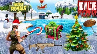 NEW SEASON SNOW, BATTLE PASS, NEW WEAPON Fortnite Battle Royale Winter Update - (Fortnite Gameplay)